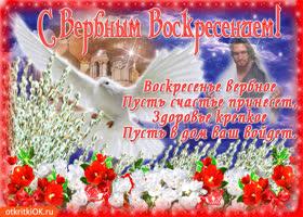 Картинка пусть вербное воскресенье счастье вам принесет