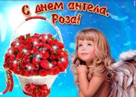 Открытка роза, милая, прими мои поздравления