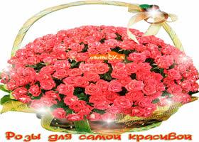 Картинка розы для самой красивой подружки