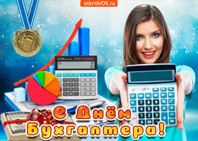 Картинка с днём бухгалтера в россии поздравление