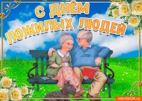 Картинка с днём пожилых людей