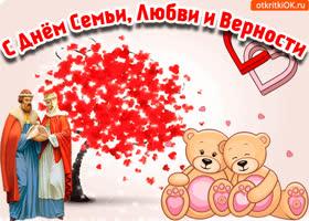 Картинка с днём семьи любви и верности феврония и пётр