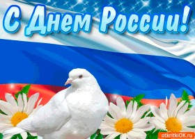 Картинка с днём россии поздравляю вас