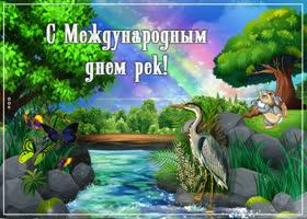 Картинка с международным днем рек