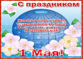 Картинка с праздником весны и труда плейкаст