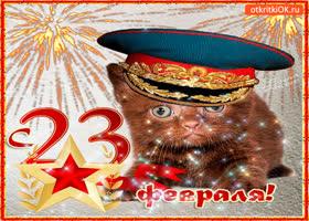 Картинка с праздником защитника отечества открытка