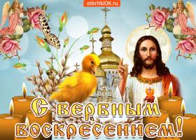 Картинка с вербным воскресеньем символ весны