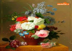 Открытка самые красивые цветы фото
