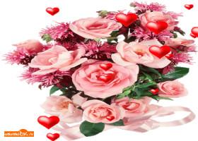 Открытка самые лучшие цветы для тебя