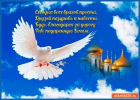 Картинка сегодня всех врагов прости