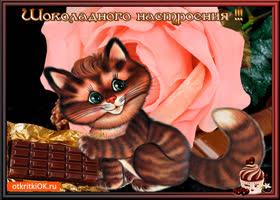 Открытка шоколадного тебе настроения