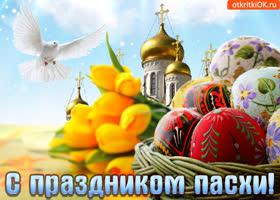 Картинка со светлым праздником пасхи мир вам