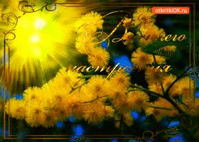 Открытка солнечного весеннего настроения тебе