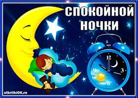 Картинка спокойной ночки
