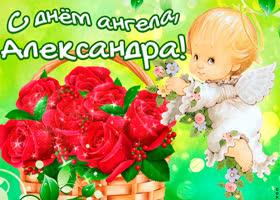 Картинка тебе желаю море счастья в день ангела, александра
