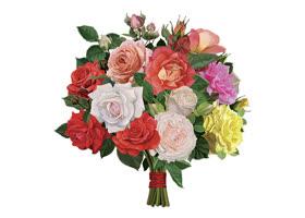 Открытка цветы