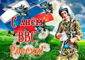 Открытка в день ввс россии поздравляю