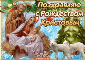 Картинка в праздник рождества я желаю всем добра