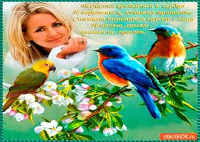 Картинка весна открывает все сердца