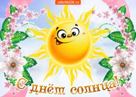 Картинка всех поздравляю с днем солнца