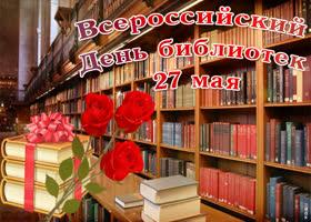 Картинка всероссийский день библиотек - 27 мая